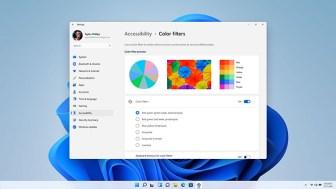 Tampilan Aksesibilitas Windows 11