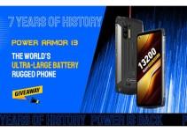 Ulefone Power Armor 13, Smartphone Monster Dengan Baterai 13,200 mAh