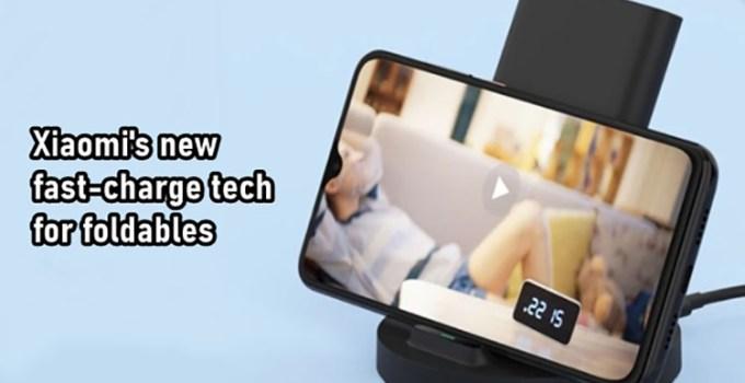 Xiaomi Merilis Paten Teknologi Pengisian Cepat Nirkabel Untuk Smartphone Lipat