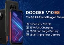 Doogee V10, Bawa Perusahaan Masuki Kompetisi Smartphone 5G