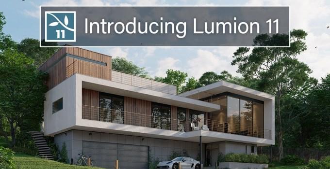 Lumion - Aplikasi Rendering Arsitektur 3D yang Sedang Naik Daun