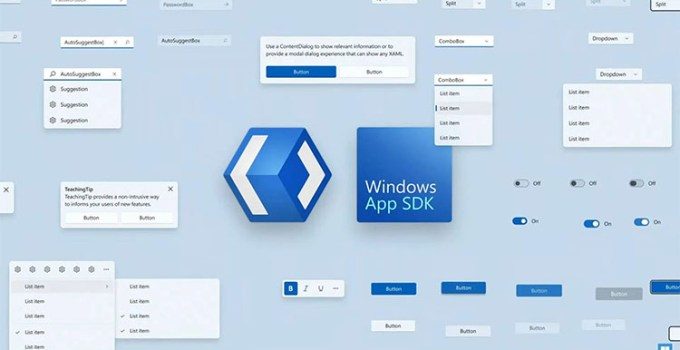 Microsoft Rilis Windows App SDK 1.0.0.0 Experimental