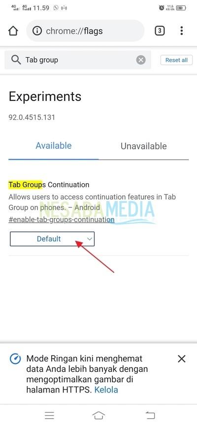 Cara Mengaktifkan Fitur Tab Group di Google Chrome