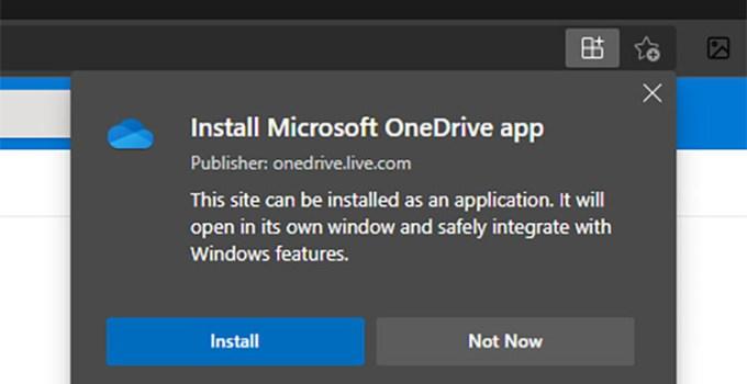 Microsoft OneDrive Kini Tersedia Dalam Versi PWA