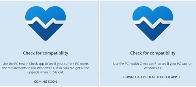 Versi Baru PC Health Check