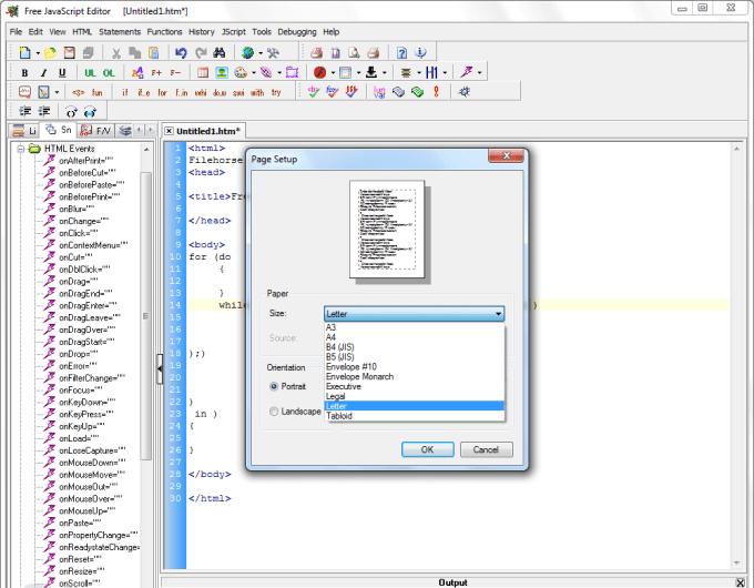 Editor JavaScript