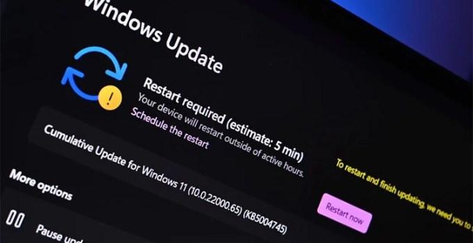 Pembaruan Patch Tuesday Pertama Windows 11 Dirilis