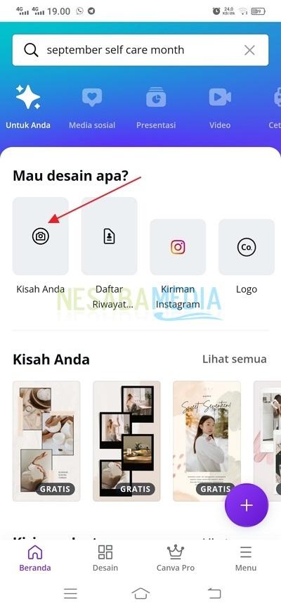 Cara Menggabungkan Foto dan Video di Story Instagram