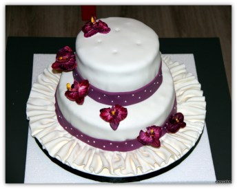 Orchids Special Occasion Cake- min. 30 person