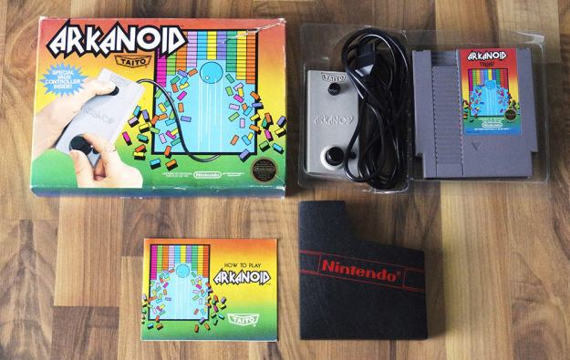 NES Arkanoid (Front) (Highlights und Kurioses)