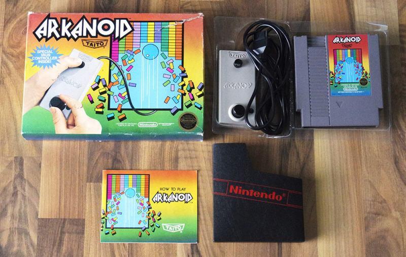 NES Arkanoid (Front) (Highlights und Kurioses)