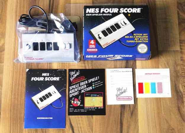 NES Four Score (Highlights und Kurioses)