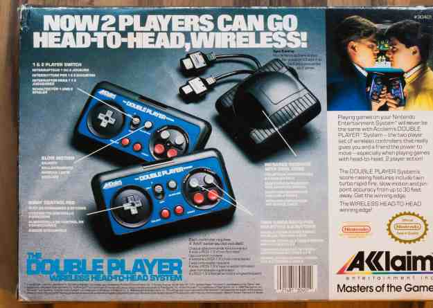 Akklaim Double Player Wireless Controller 02 (Highlights und Kurioses)
