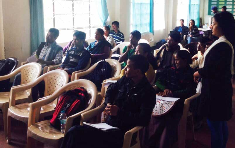 Teachers of the 10 villages at the program me organized at Bethany Society, Shillong. Photo: NESFAS