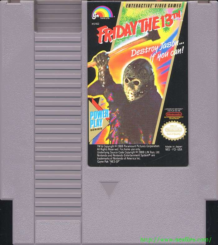 Friday The 13th For NES The NES Files