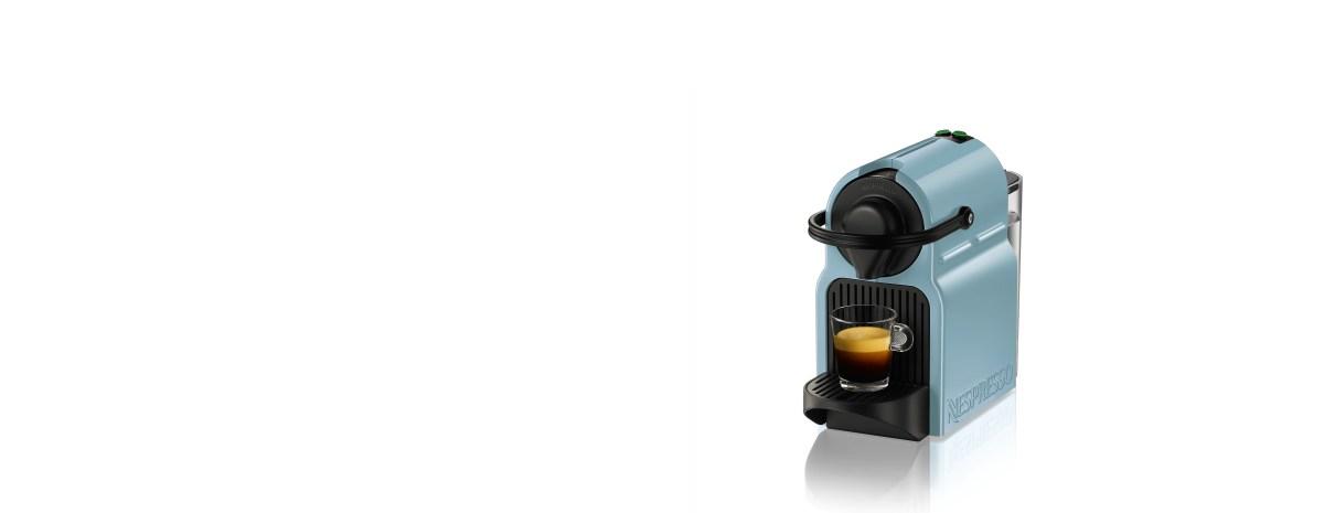 Nespresso C40 Inissia Sky Blue | COFFEE MACHINE| NESPRESSO CN