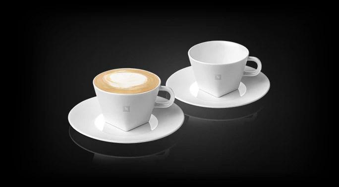 Cappuccino Kopjes Set Pure Collection Nespresso