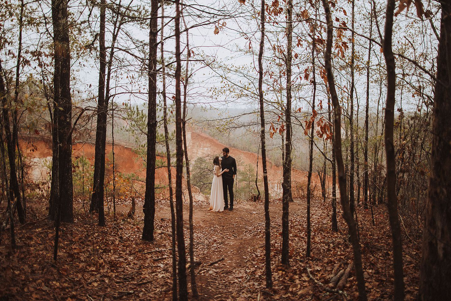 Providence Canyon State Park Elopement Pictures  Nessa K