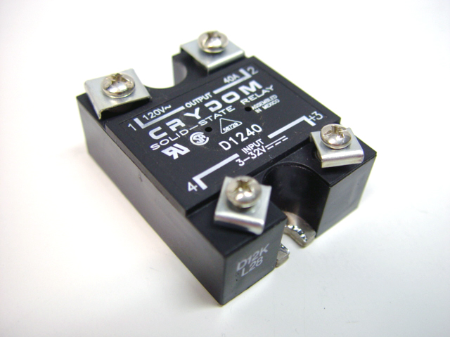 Crydom D Solid State Relay 40a 120v Panel Mount