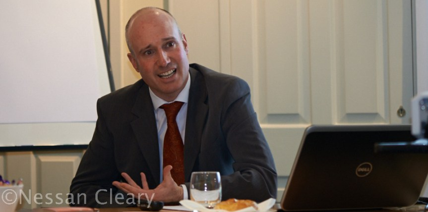 Justin Lewis, GMI's business development director (Europe)