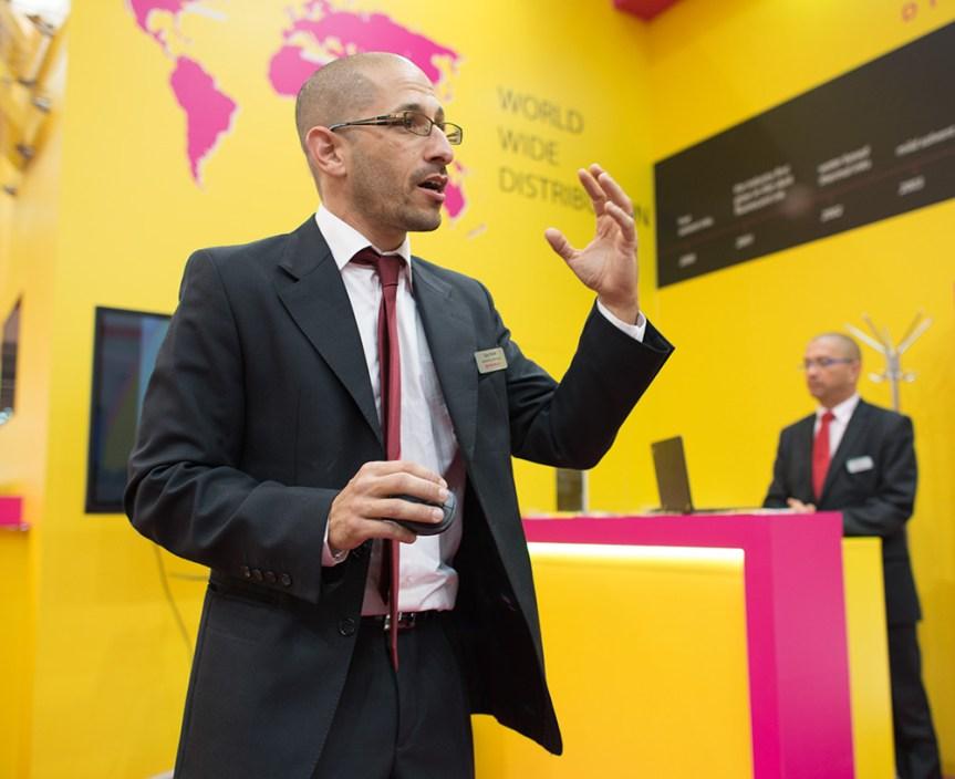 Guy Evron, marketing manager for Bordeaux.