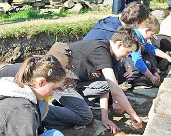 Calling would-be archaeologists . . . your chance to dig at the Ness
