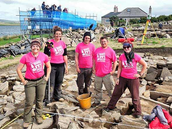 The pink team from Structure Fourteen.