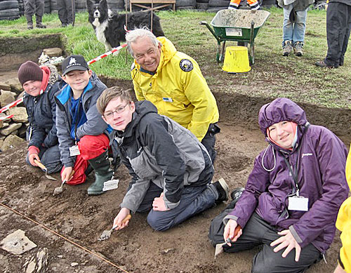 Despite the wind, the latest squad of young archaeologists battle the elements to make some great discoveries.