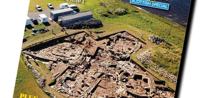 Current Archaeology Ness of Brodgar Cover