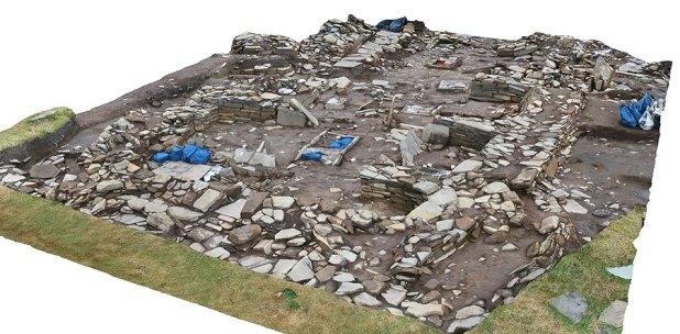 Screenshot of Jim's digital reconstruction of Structure Eight.