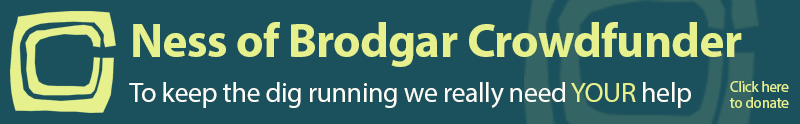 Ness of Brodgar Crowdfunder Banner