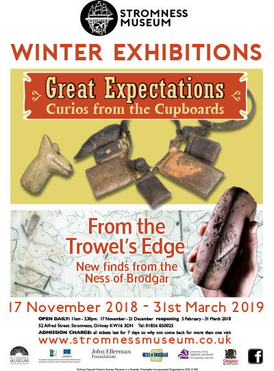 From the Trowel's Edge – this summer's finds at the Stromness Museum