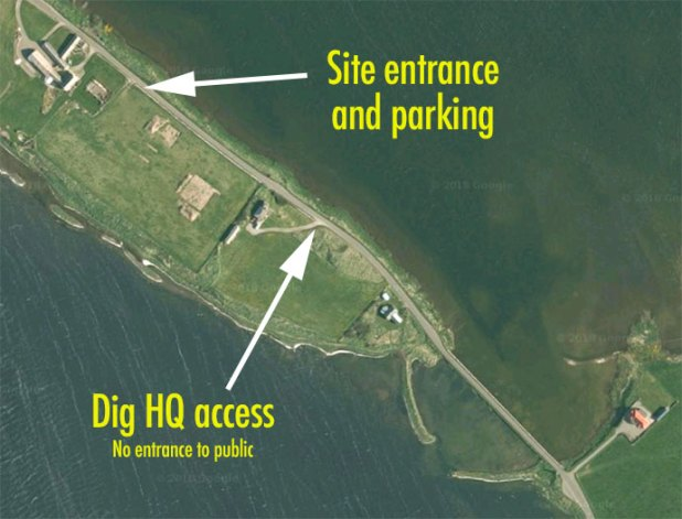 Site access and parking