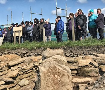 Time is running out for free tours of the Ness dig
