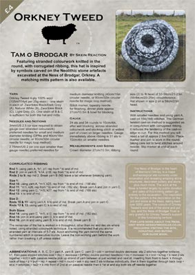 Tam O Brodgar Knitting Pattern