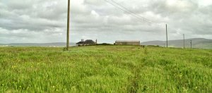 Ness of Brodgar site before excavation