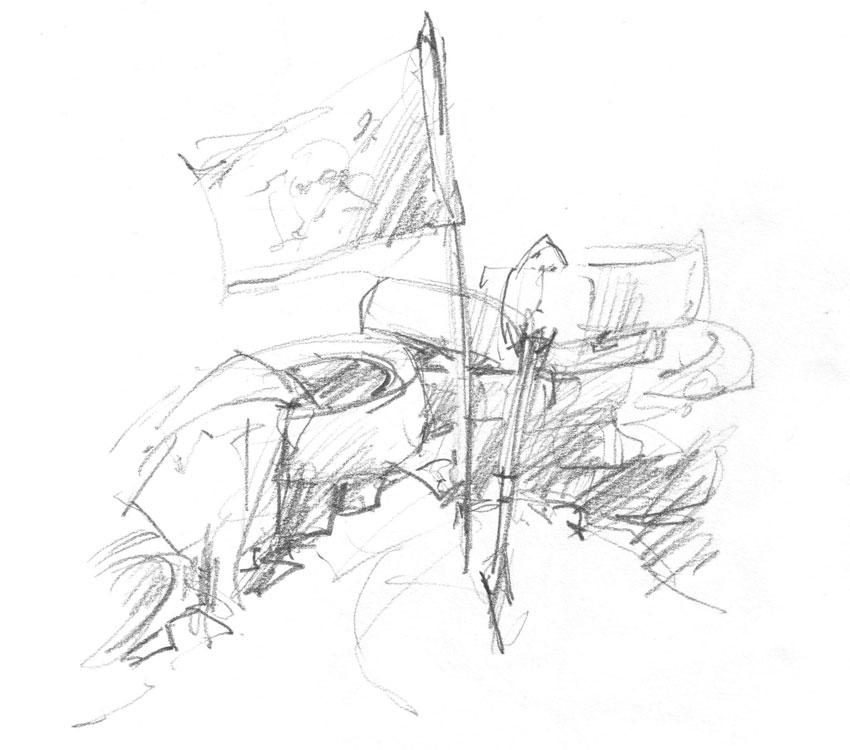 Pirate flag. (Karen Wallis)