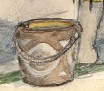 Bucket detail. (Cecily Webster)