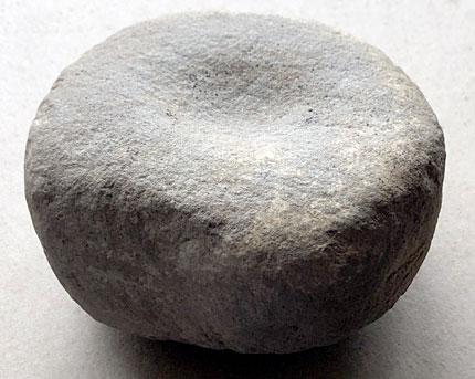 Multi-hollowed cobble tool. Sigurd Towrie