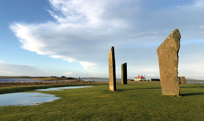 Standing Stones of Stenness, Orkney. (Sigurd Towrie)