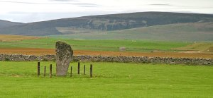 The Barnhouse Stone, Stenness. (Sigurd Towrie)