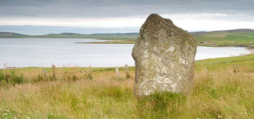 The Deepdale Standing Stone, Stromness, Orkney (Sigurd Towrie)