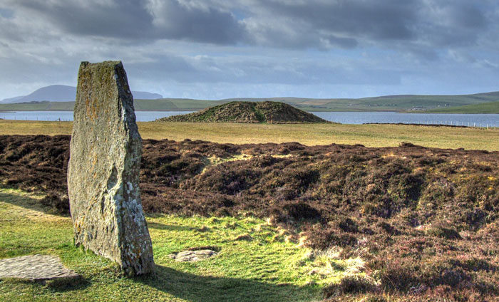 Salt Knowe from the Ring of Brodgar. (Sigurd Towrie)