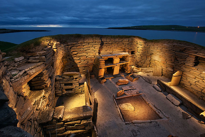 House One. Skara Brae. (Jim Richardson)