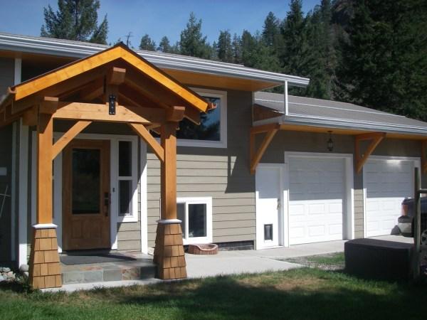 Timberframe Entrances - Nest Timberhome & Design
