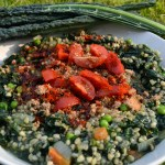 Supergreen Buckwheat Risotto with Kale and Spirulina