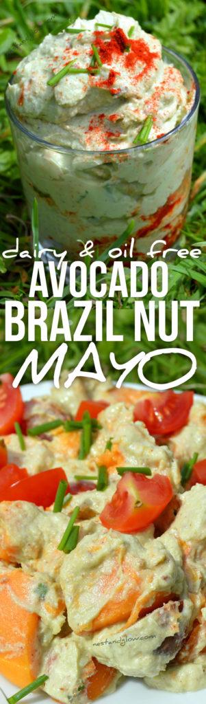 avocado brazil nut mayo