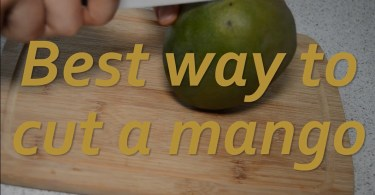 best way to cut mango with ceramic knife