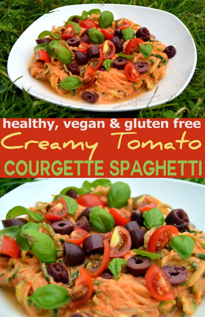 Creamy Tomato Courgette Spaghetti Recipe