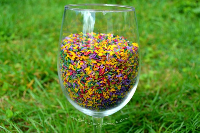 natural veggie fruit sprinkles